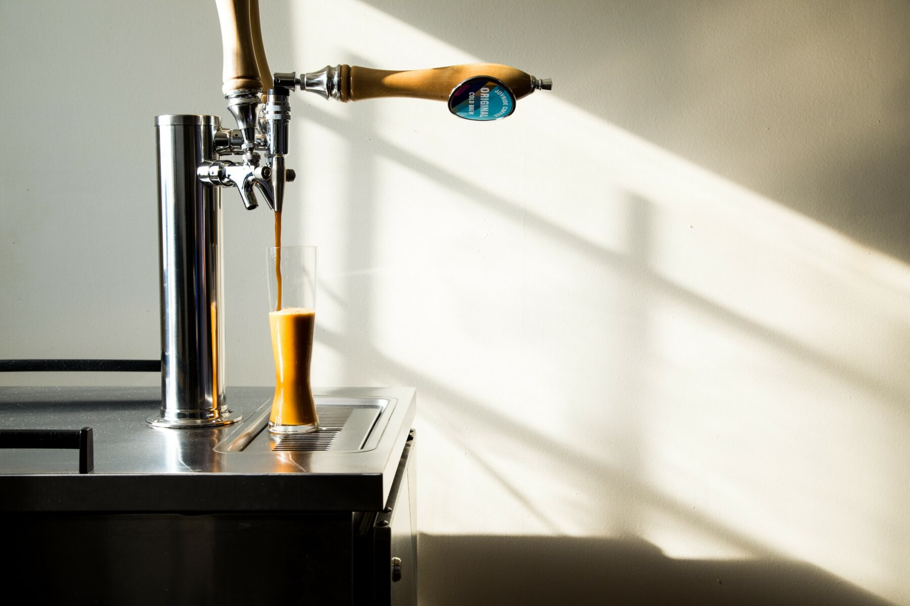 Tap Pouring Cold Brew