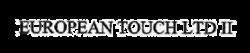 Turopean Touch_Logo_BW