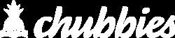 Chubbies_White Logo